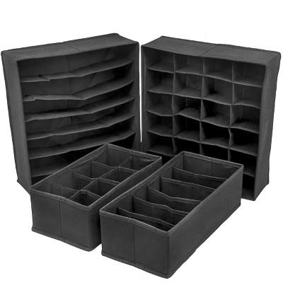 Sorbus Cube Storage Box Black