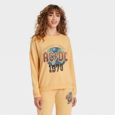 Women's The AC/DC Graphic Sweatshirt - Yellow