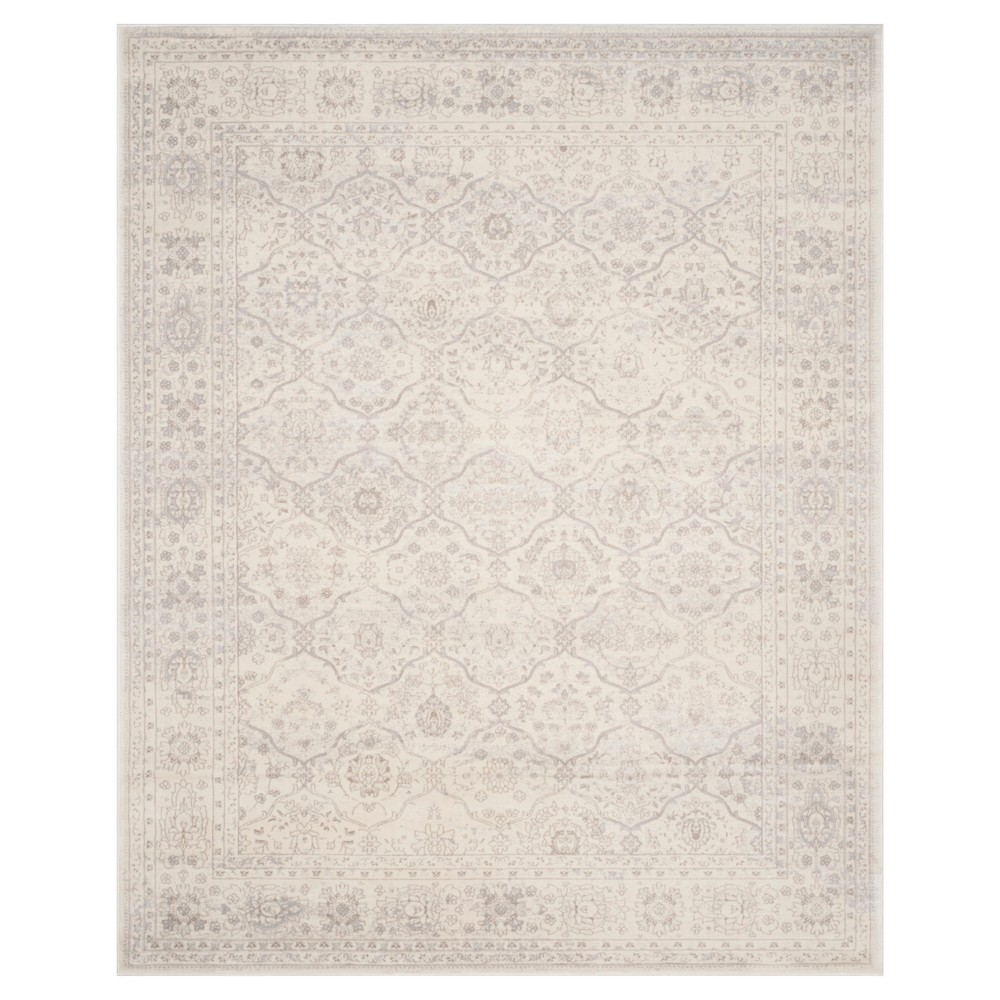 Carnegie Rug - Cream/Light Gray (Ivory/Light Gray) - (9'X12') - Safavieh