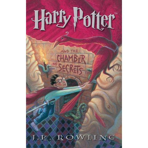 Harry Potter and the Chamber of Secrets - by  J K Rowling (Paperback) - image 1 of 1