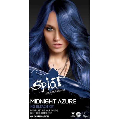 Splat Midnight Hair Color - Azure - 6.0oz