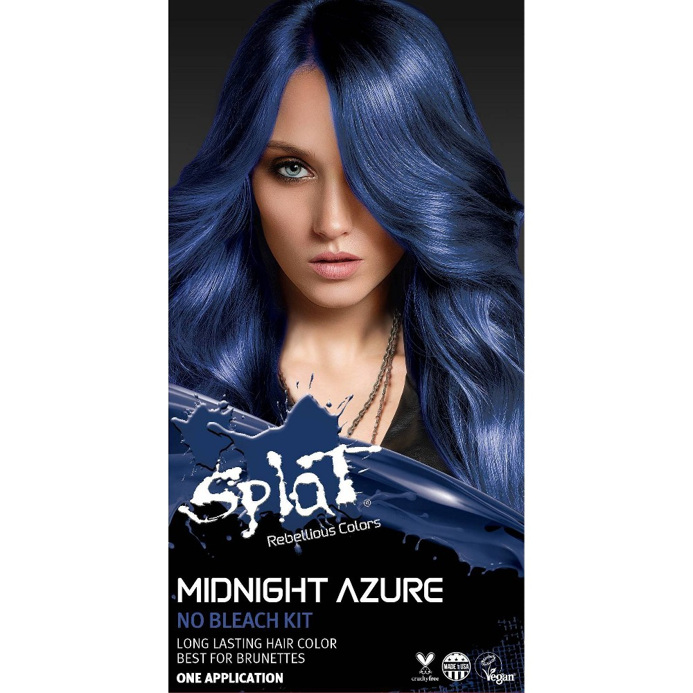 Image of Splat Midnight Hair Color - Azure - 6.0oz