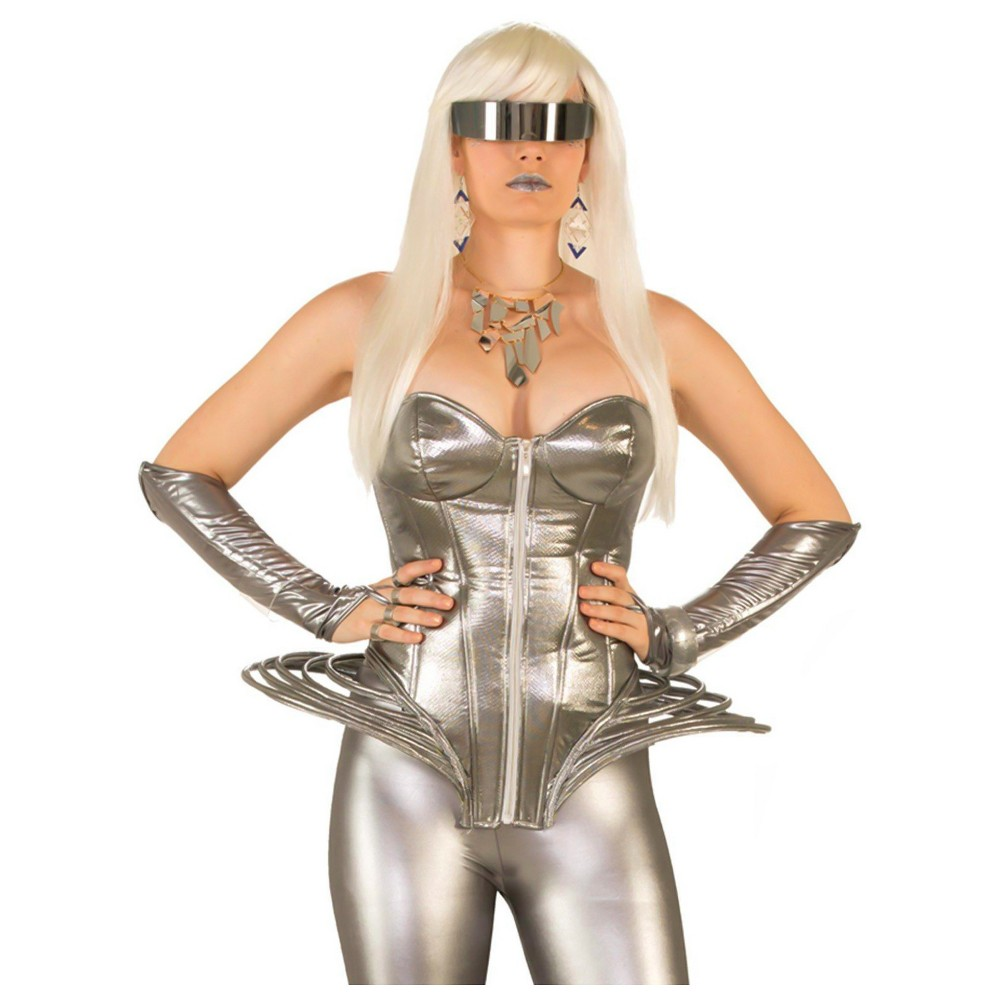 Image of Halloween Galactic Diva Costume Kit, Women's, MultiColored