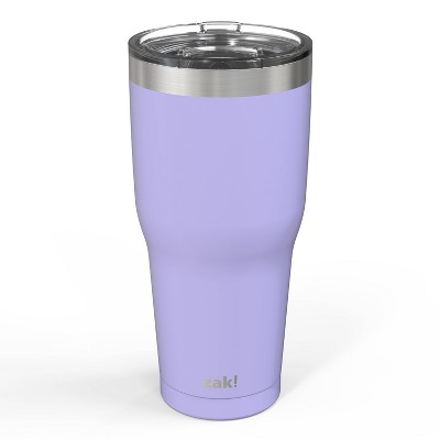 Zak! Designs 30oz Double Wall Stainless Steel Cascadia Tumbler - Violet