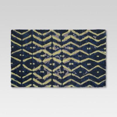 Shibori Doormat - 18 x30  - Threshold™