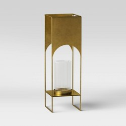 Modern Brass Candle Holder - Project 62™
