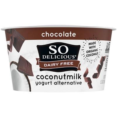 So Delicious Dairy-Free Chocolate CoconutMilk Yogurt Alternative - 5.3oz