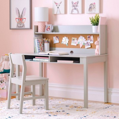 Living & Learning Kids' Desk with Hutch and Chair - Martha Stewart