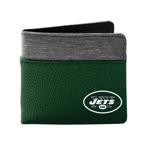NFL New York Jets Pebble BiFold Wallet - image 1 of 2
