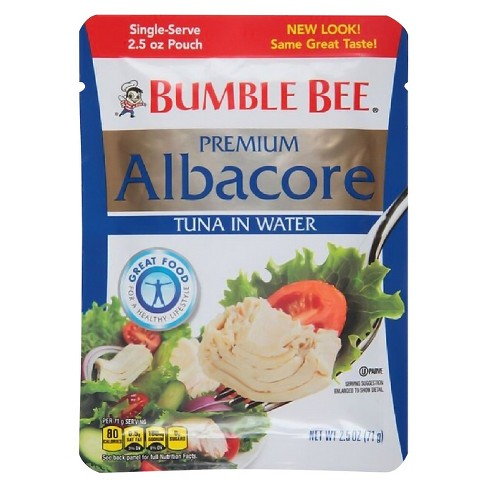 Bumble Bee Albacore Tuna in Water Pouch 2.5 oz - image 1 of 1