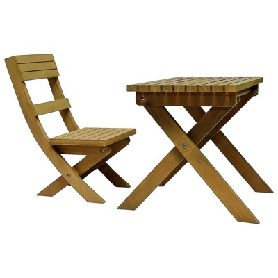 The Queen's Treasures 18 Inch Doll Dr. Jane Goodall Inspired Gombe Rainforest Camp Table And Chair Set