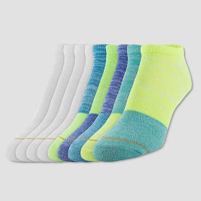 4fb0695a68c All Pro by Gold Toe Womens 6+3pk Flat Knit Athletic Socks with Color .