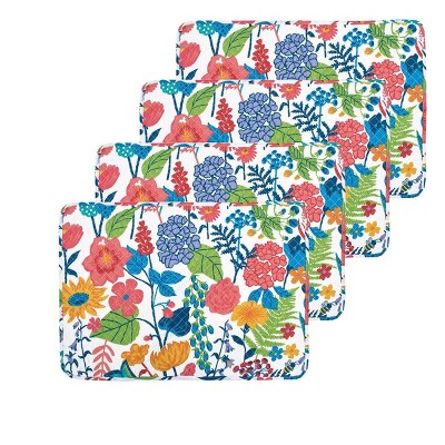carol & frank Quinn Quilted Placemat Set of 4