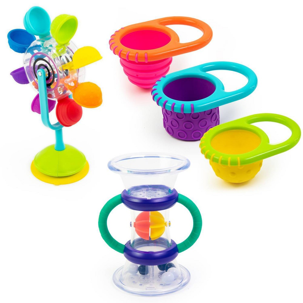 Image of Sassy Water Discovery Bath Toy Gift Set - 5pc