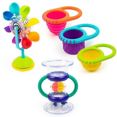 Sassy Water Discovery Bath Toy Gift Set - 5pc - image 1 of 4