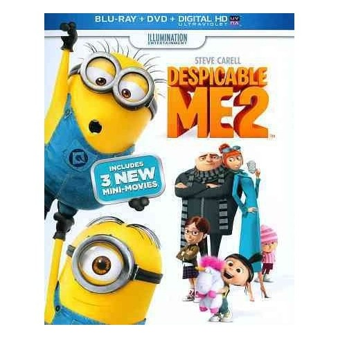 Despicable Me 2 (Blu-ray + DVD + Digital) - image 1 of 1