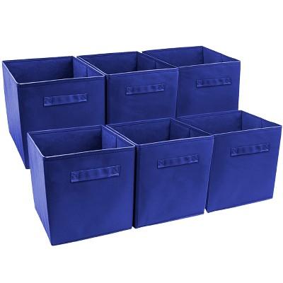 Sorbus Cube Storage Box Royal Blue