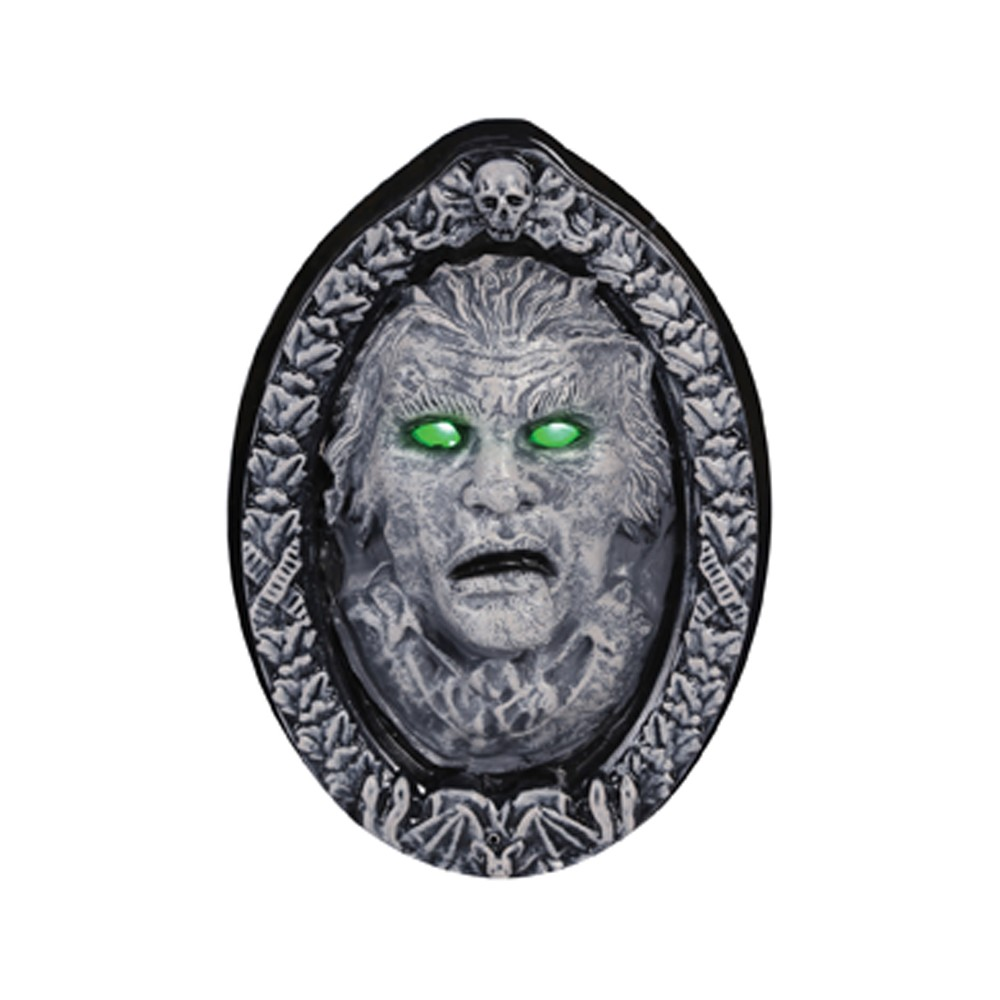 "Image of ""12"""" x 8.5"""" Halloween Animated Haunted Frame"""