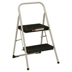 Awe Inspiring Cosco 2 Step All Steel Step Stool Target Andrewgaddart Wooden Chair Designs For Living Room Andrewgaddartcom
