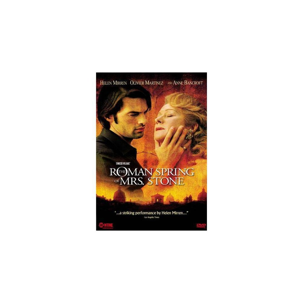 Tennessee Williams The Roman Spring Of Mrs Stone Dvd 2004
