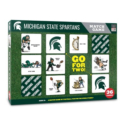 NCAA Michigan State Spartans Football Match Game