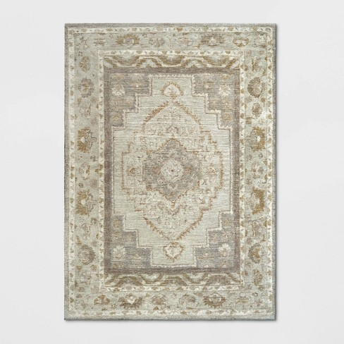 Wool Tufted Geometric Persian Area Rug - Threshold™ - image 1 of 3