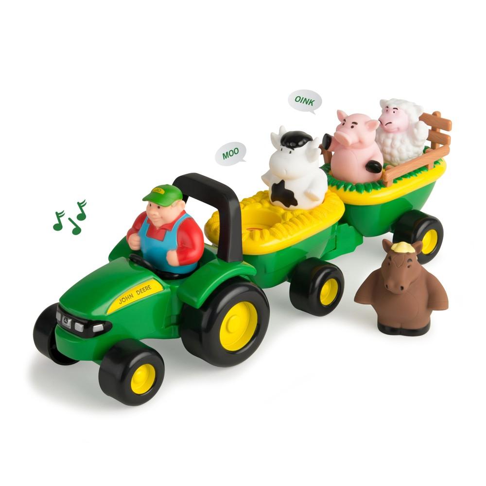 John Deere Animal Sounds Hay Ride