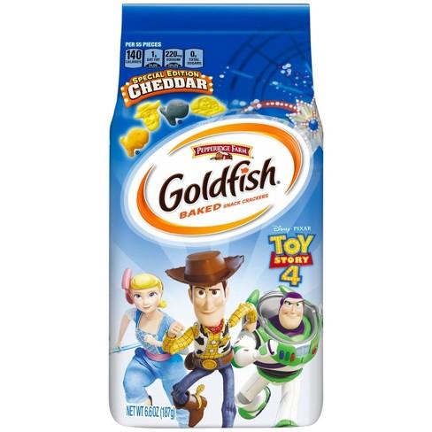 Goldfish Toy Story Cheese Crackers - 6.6oz - image 1 of 8