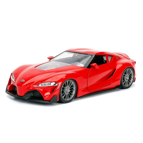 Jada Toys JDM Tuner Toyota FT-1 Concept Die-Cast Vehicle 1:24 Scale Glossy Red - image 1 of 4