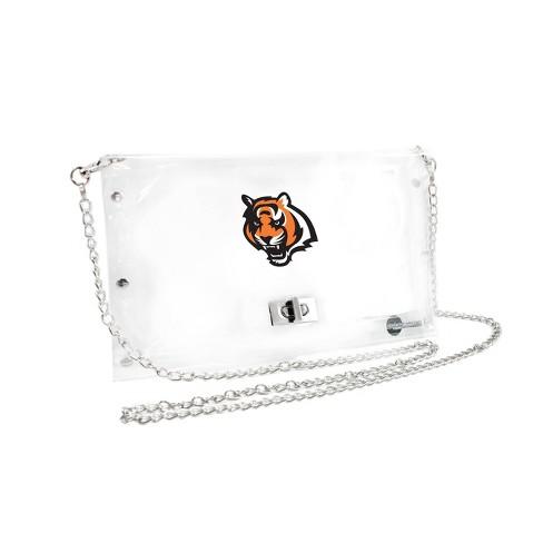 NFL Cincinnati Bengals Clear Envelope Purse - image 1 of 1