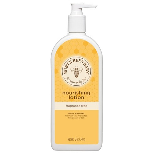 3d8f0e117f4 Burt s Bees Baby Bee Fragrance Free Nourishing Lotion - 12 Oz   Target