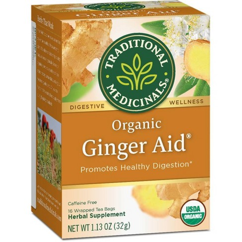 Traditional Medicinals Ginger Aid Tea - 16ct - image 1 of 4
