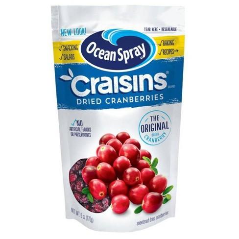 Ocean Spray Craisins - 6oz - image 1 of 2