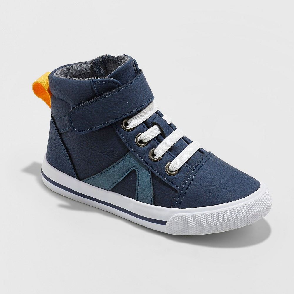 Toddler Boys' Louis Sneakers - Cat & Jack Navy 7, Blue