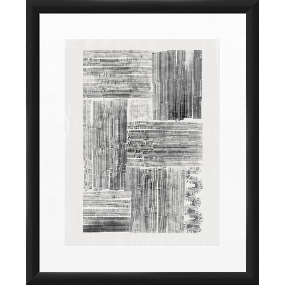 18 34 X 22 34 Gray Grace Framed Wall Art Black Ptm Images
