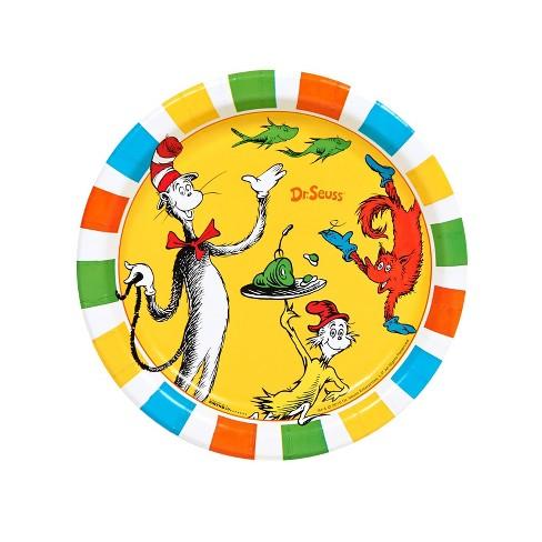 Dr. Seuss 8ct Favorites Dessert Plates - image 1 of 1