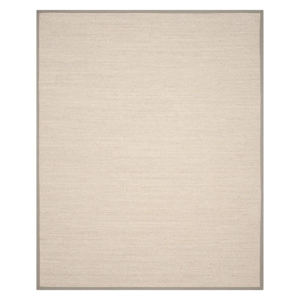 Solid Loomed Area Rug Marble/Khaki