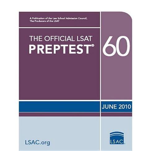 The Official LSAT Preptest 60 - (Official LSAT PrepTest) (Paperback) - image 1 of 1