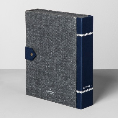 File Box - Navy/Black - Hearth & Hand™ with Magnolia