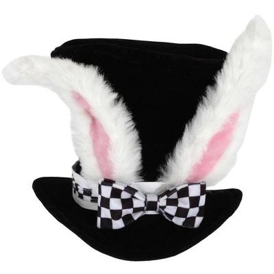 Elope Alice In Wonderland White Rabbit Topper Costume Hat Adult