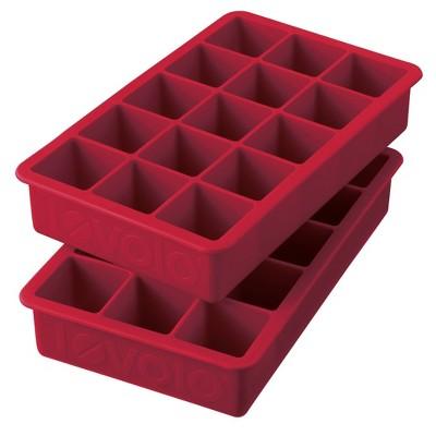 Tovolo Set of 2 Perfect Cube Ice Tray Set