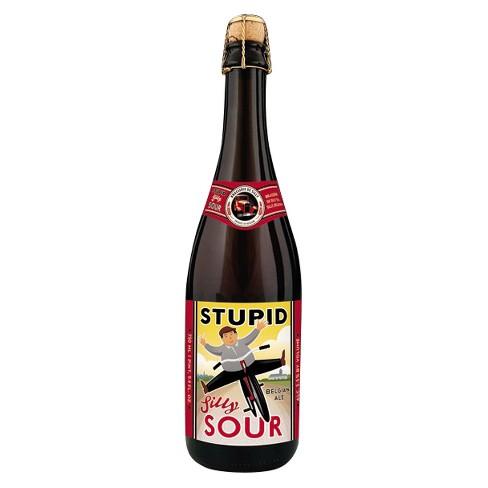 Brasserie de Silly Stupid Sour Ale Beer - 750ml Bottle - image 1 of 1