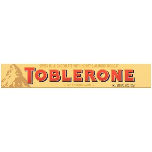TOBLERONE Swiss Milk Chocolate Candy Bar - 3.52oz - image 1 of 3