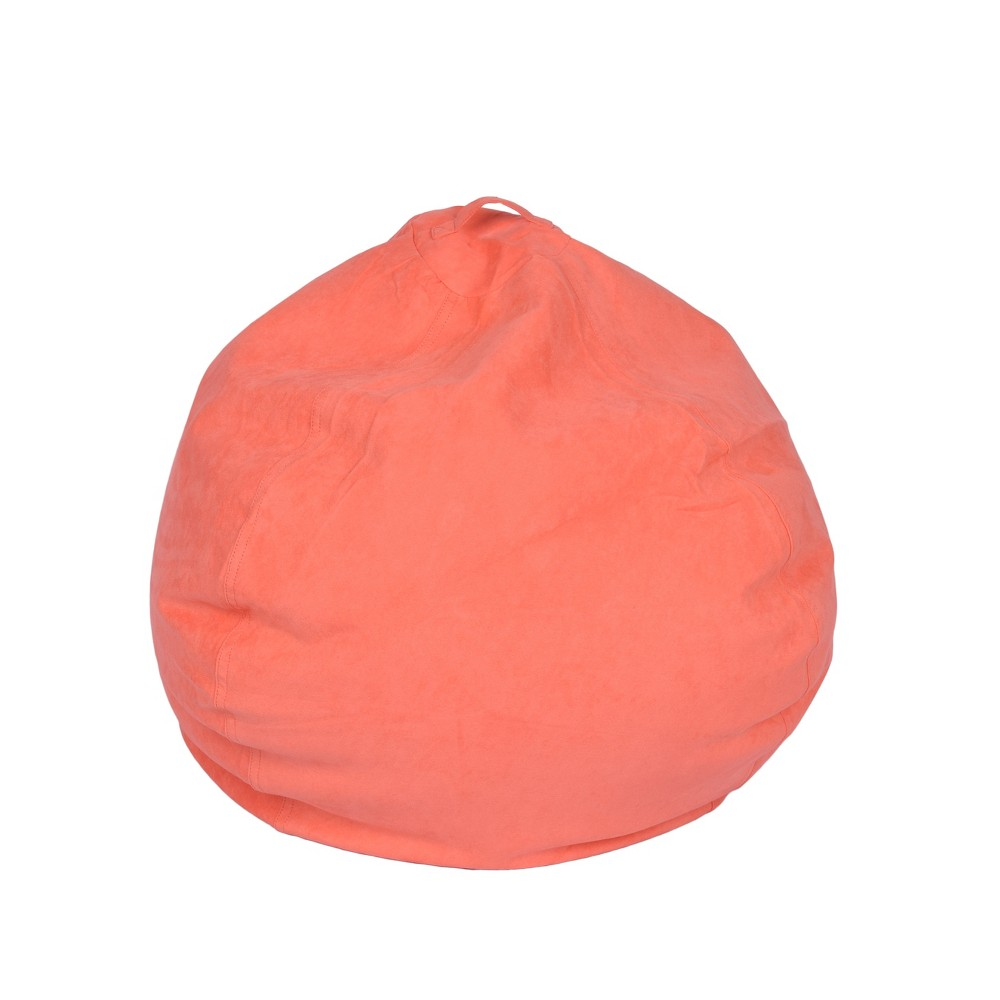Image of Bean Bag Chair - Coral - Reservation Seating, Pink