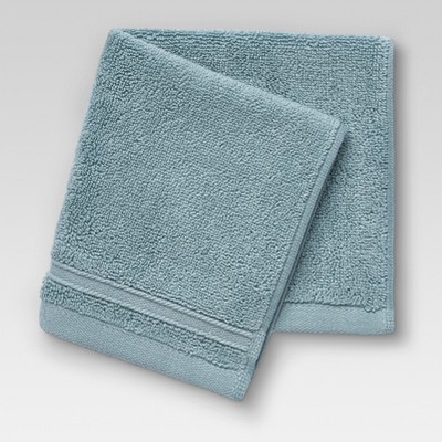 Performance Solid Washcloths Surf - Threshold™