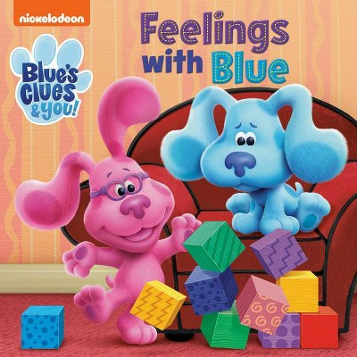 Feelings with Blue (Blue's Clues & You) - (Board Book)