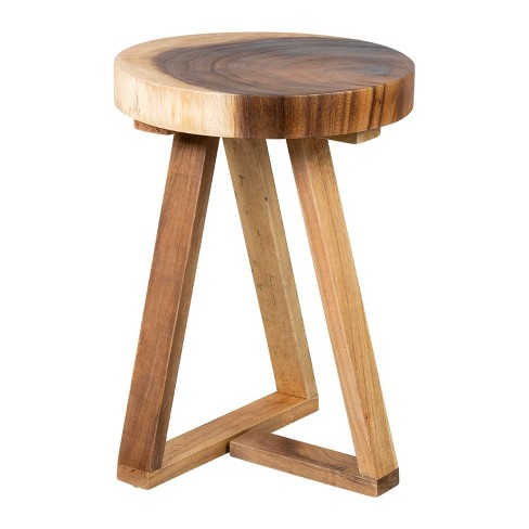 Lola Side Table Brown - East At Main - image 1 of 3