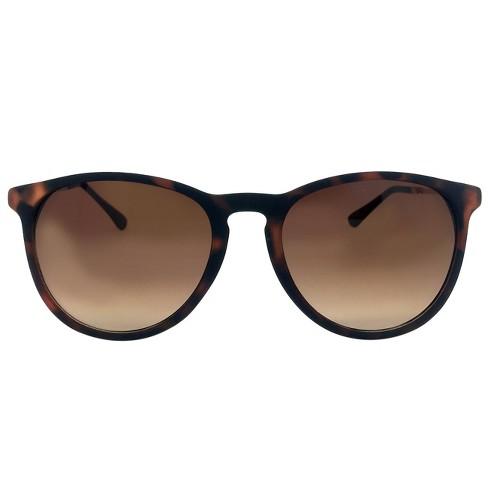 70f67351e2 Women s Round Sunglasses - Brown   Target