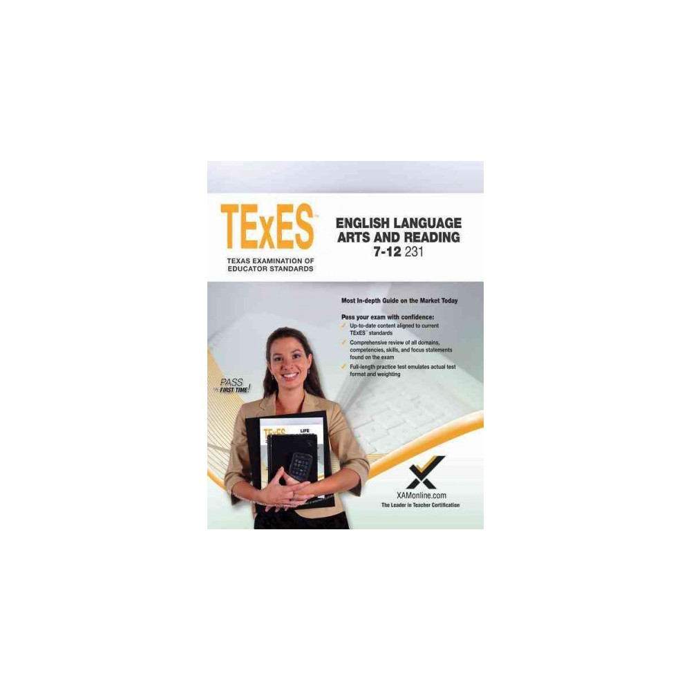 TeXes English Language Arts and Reading 7-12 231 (Paperback) (Sharon A. Wynne)
