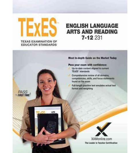 TeXes English Language Arts and Reading 7-12 231 (Paperback) (Sharon A. Wynne) - image 1 of 1